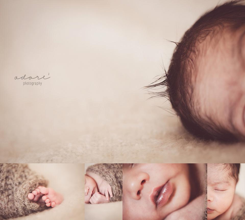 newborn on location