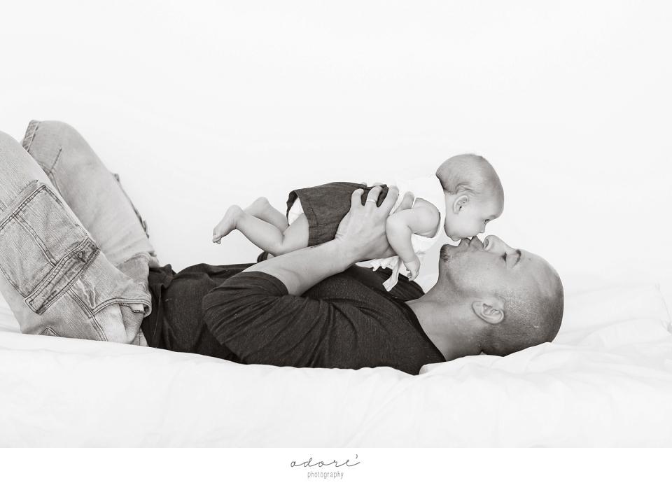 relaxed family photo shoot