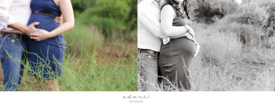outside maternity shoot
