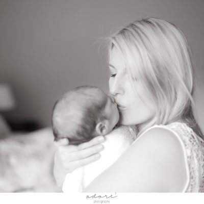 jackson family lifestyle newborn shoot
