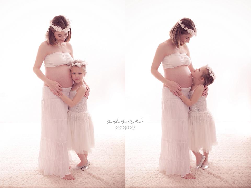 pretoria maternity photo shoot in centurion studio