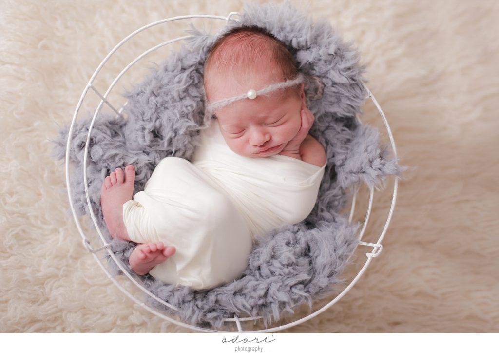 newborn mini shoot