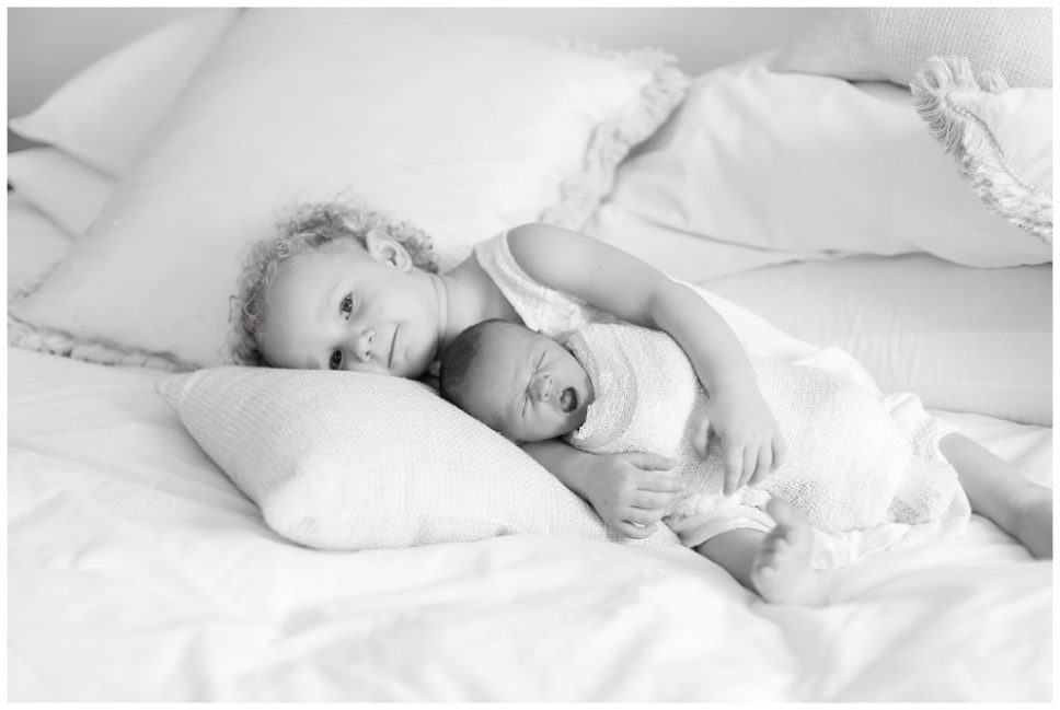 newborn photos at home
