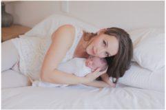 newborn photos at home