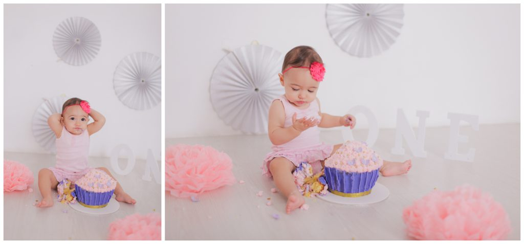 cake smash toddler shoot 1st birthday