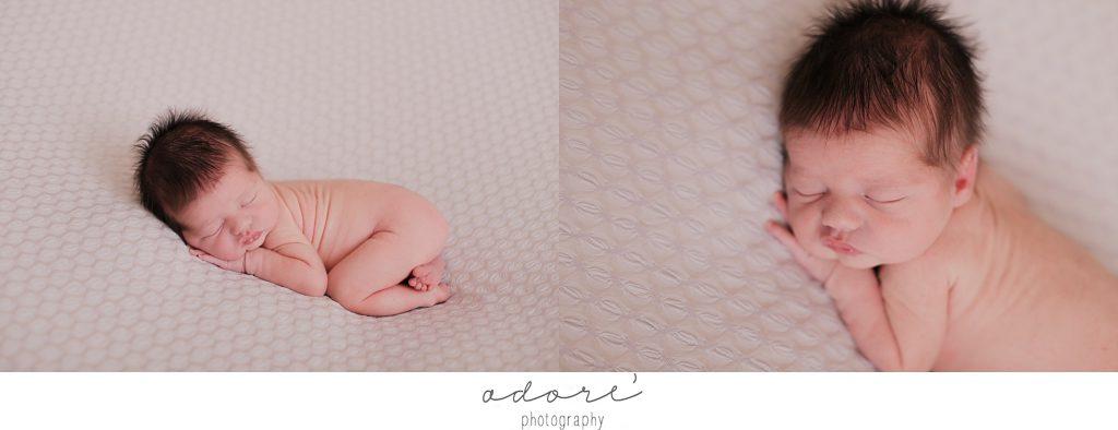 newborn studio shoot