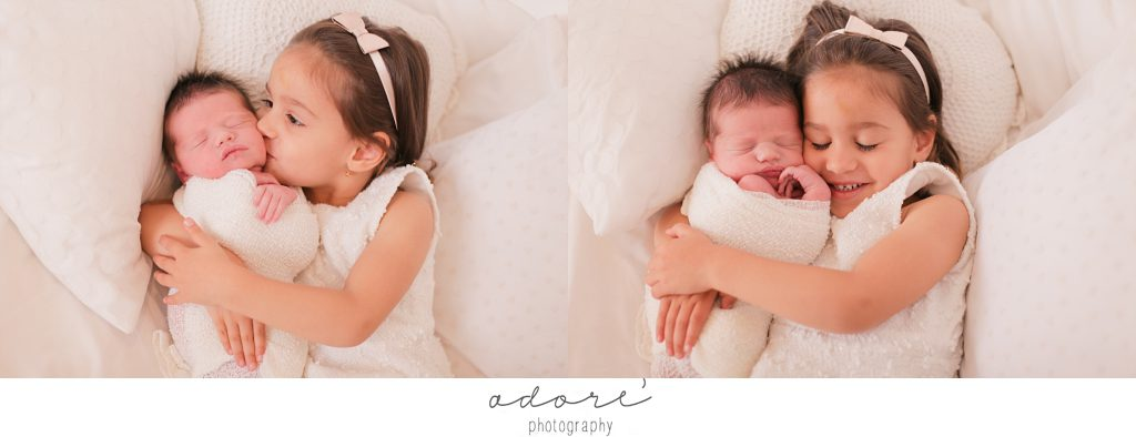 newborn studio shoot