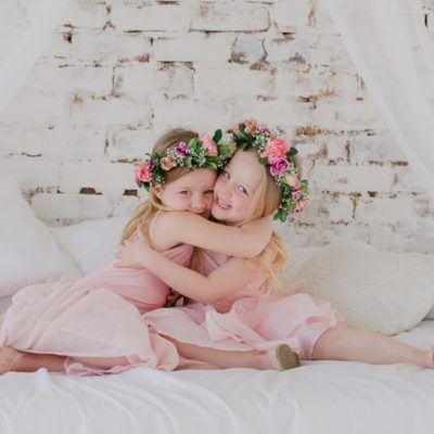 mullers | floral family photo shoot