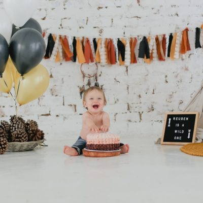 wild one cake smash shoot