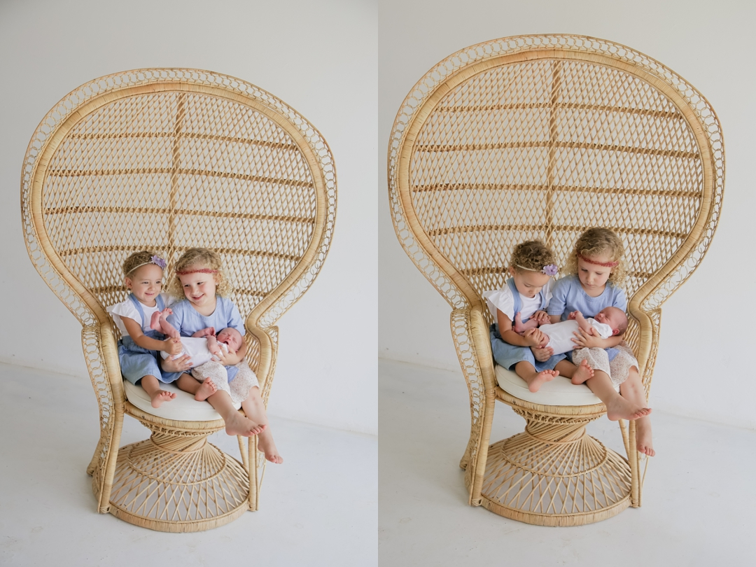newborn family photo shoot