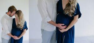 maternity couple shoot