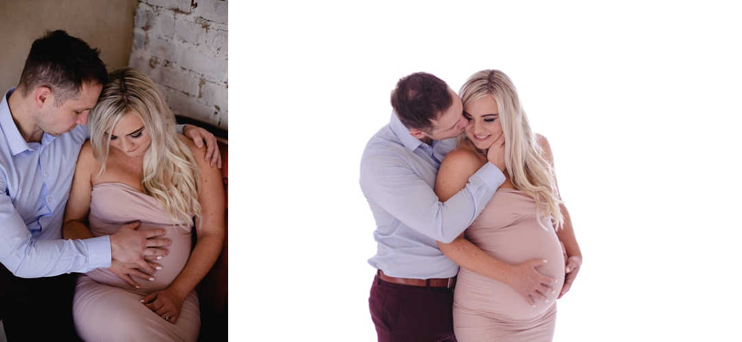 maternity studio photos