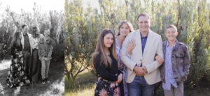 family shoot on location