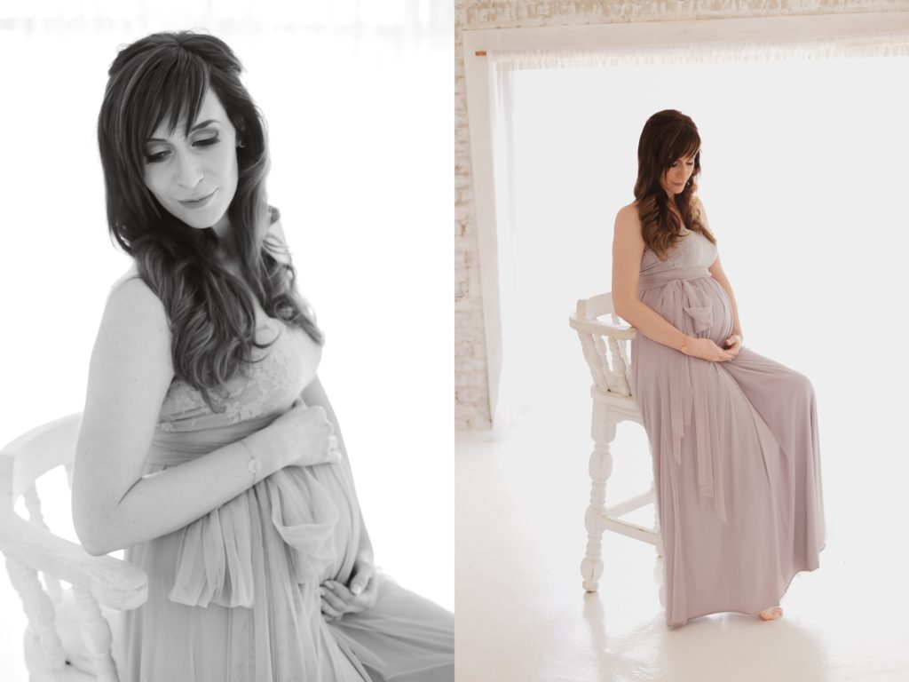 maternity in studio