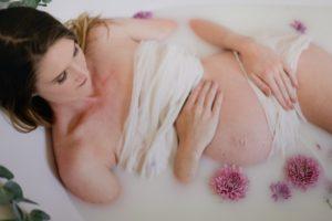 maternity milkbath