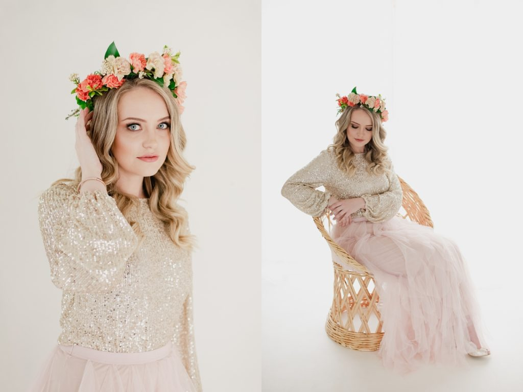 floral styled shoot
