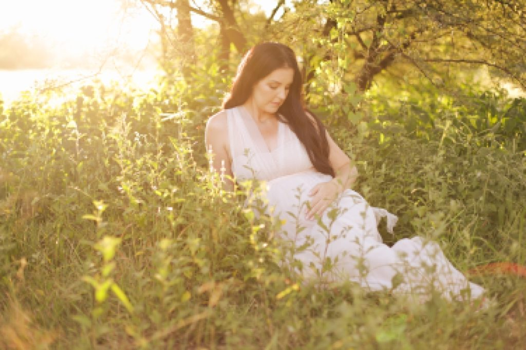 maternity shoot on location