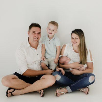 howell family | newborn photographer pretoria