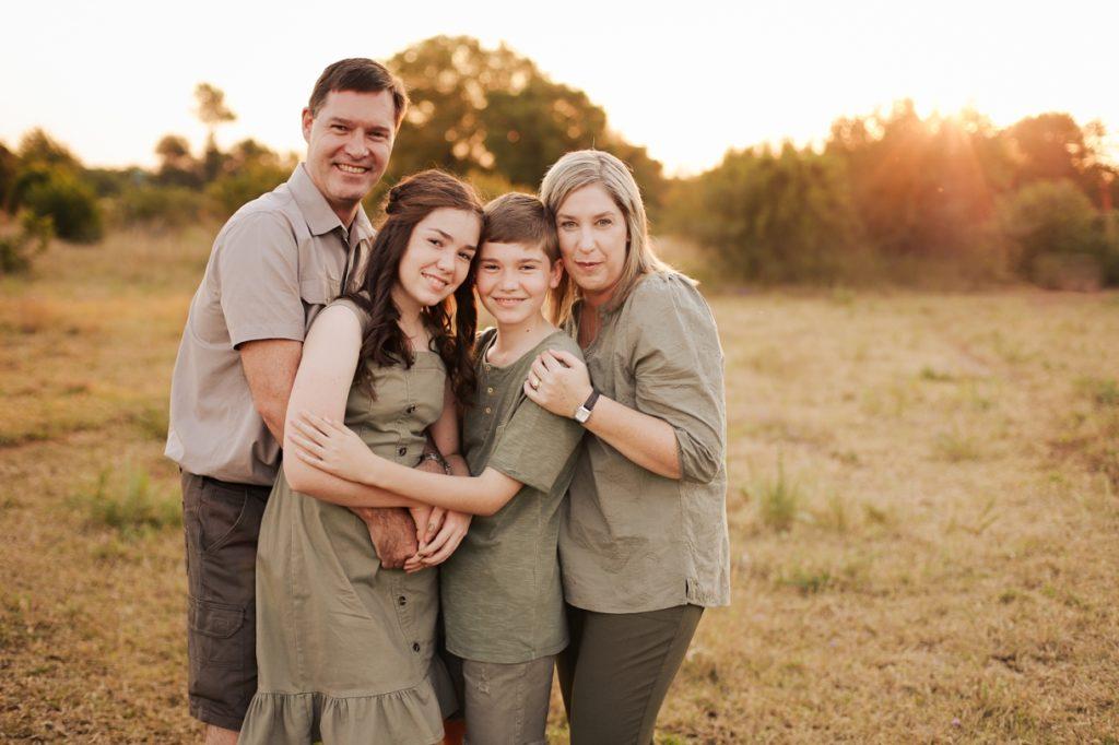 family location shoot outdoors