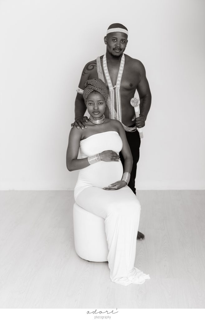 african maternity shoot