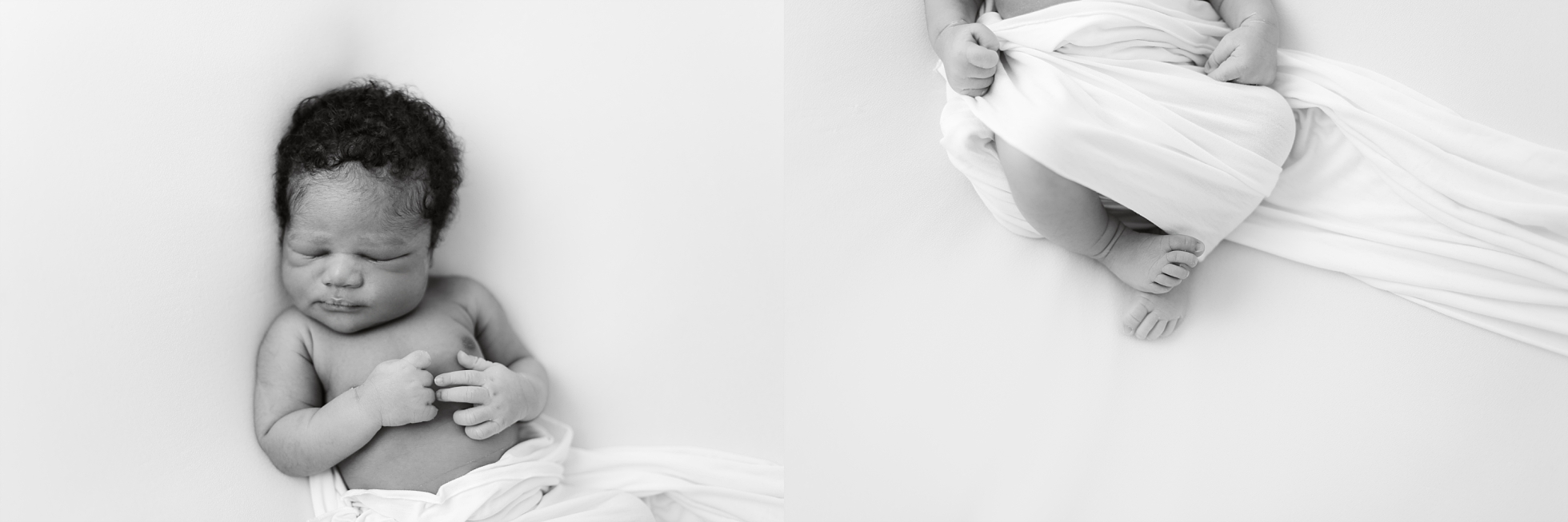 simple newborn session
