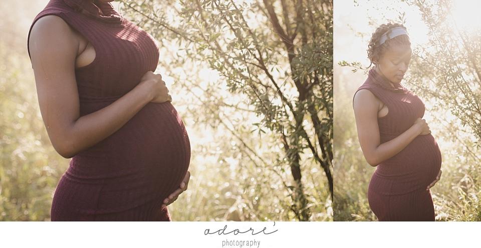 maternity family on location