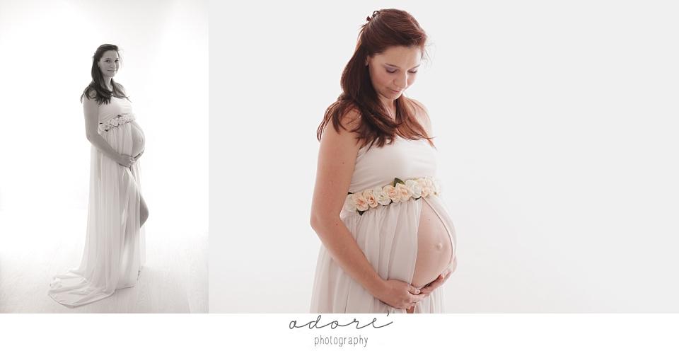 maternity in studio