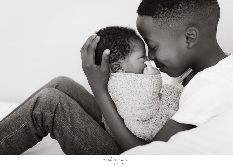 newborn and family shoot