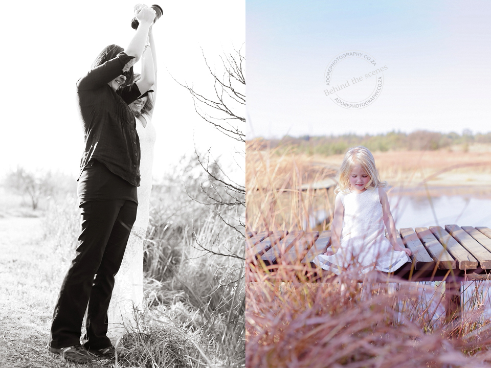 behind the scenes family shoot