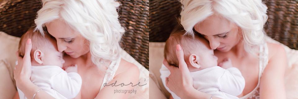 mom and baby photography motherhood