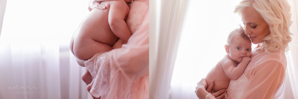 mom and baby photography motherhood