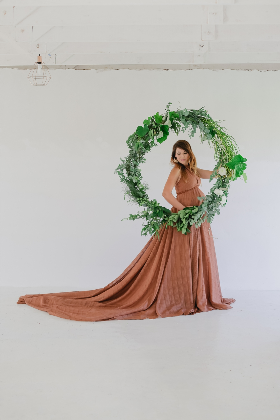 maternity shoot dresses styled shoot