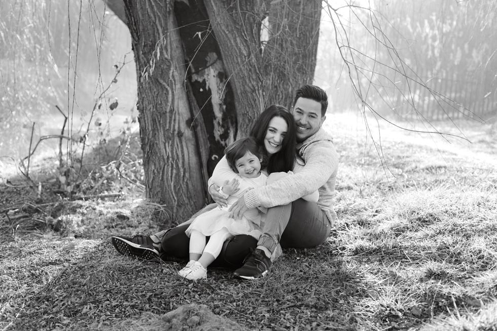 family outside shoot